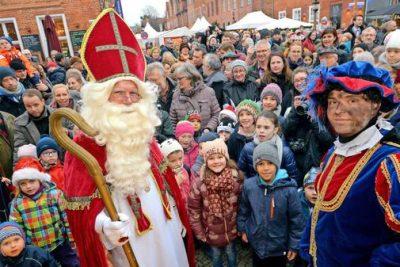 Sinterklaas-Fest im Holländischen Viertel