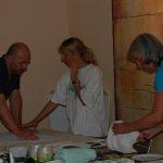 Karawane der Kreativität Farbe, Form, Material