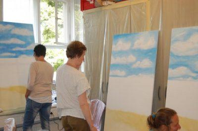 Karawane der Kreativität Fly in the Sky - Dive in the Ocean
