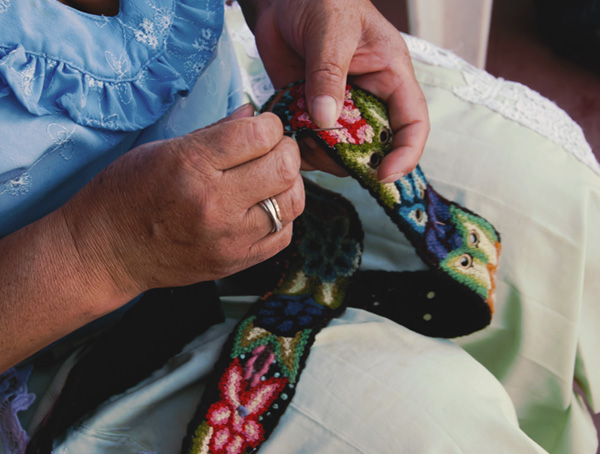 Kunsthandwerk aus Peru