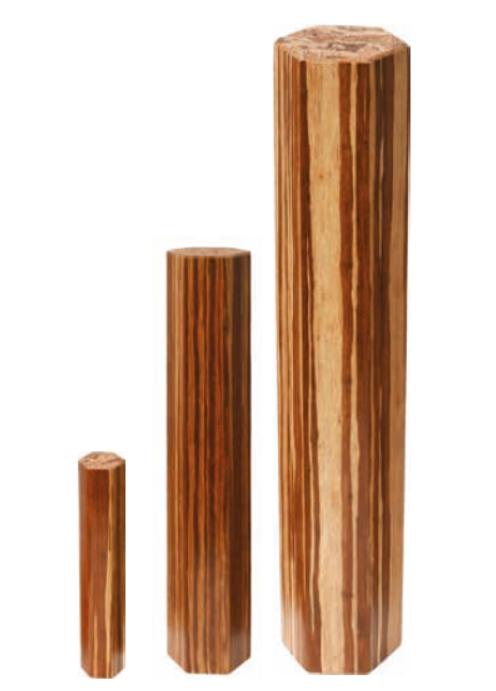 Regenklangsäulen